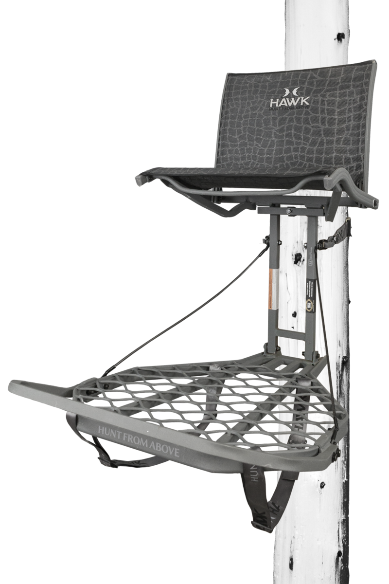Hawk Treestands Helium LVL Hang-On Kickback BRAND NEW